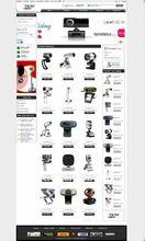 Creative Camera E-commerce Web Design Service