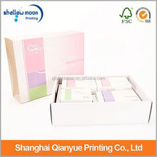 Wholesale customize brand cosmetic paper gift box
