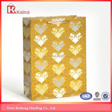 Popular for the market factory supply art paper bags for cosmetics