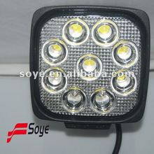 2012 latest car 4wd accessories, led driving light, 27w running light led,auto parts