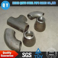Seamless ASTM A106 Gr.B 4 inch steel pipe fittings