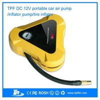 Unique mini portable car tyre inflator/ air compressor pump for sale