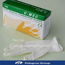 Work glove for 9'' synthetic latex gloves with FDA CE certificate