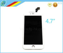 High Quality Test Before White Touch Screen Digitizer+ LCD Display Replacement For iPhone 6 4.7 inch LCD