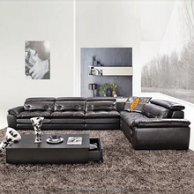 High Quality Living Room Leather Sofa Modern Design