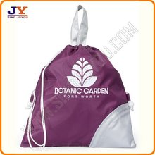 190D Polyester shopping bag with drawstring