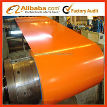 Manufacturing color coated steel coil building material price