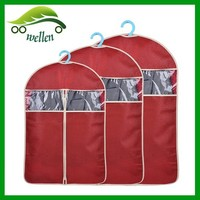 Colorful garment bags dry cleaning laundry bag