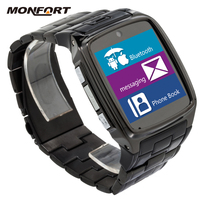 China watch phone manual Android big Touch Screen Waterproof latest wrist watch mobile phone