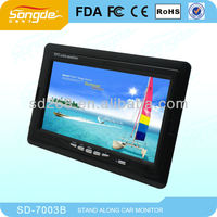 """7""""car headrest tft lcd monitor /stand alone monitor"""