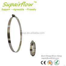 Modern useful flexible natural gas hose clamp