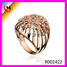2015 FASHION JEWELRY/CHINA SUPPLIER WHOLESALE INDIAN JEWELRY RING IN 22K