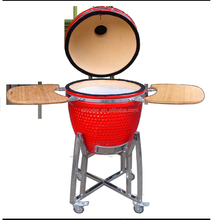 ceramics charcoal grill for meat chicken, vegetables, etc