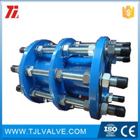 din/api flange type hdpe to steel pipe coupling good quality