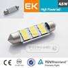 Smart system T10/W5W/194 5630 3535 Canbus festoon led car light canbus auto 12v 8w led car bulb