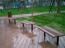Waterproof cheap wpc outdoor plastic bench seats/Wpc Bench