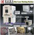 fibra 10w 20w 30w máquina de grabado del laser para el metal