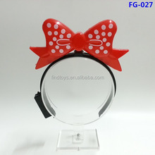 LED Polka Dot Bow Headbands for Parties and Festivals