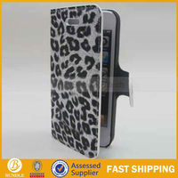leopard print leather case for iphone 5 5g