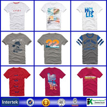 Production cost printing t-shirt/t shirt wholesale/blank t shirt