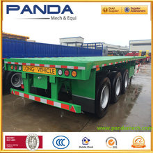 3axles flatbed trailer for container shipping