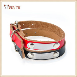 Pet Product For Dog Pet Collar DIY & Nylon Leather High Quality More Colour Dog Collar