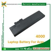 14.4v 4400mah laptop bttery for Acer 4000 laptop battery