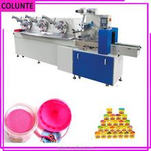 zheng zhou dual frequency converting lower power / plasticine/dough/card Packing Machine
