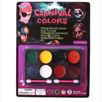 Halloween 8 Color 1 Set Cosmetic Face Body Paint Tattoo Oil Painting Art Party Fancy Dress DIY Tools