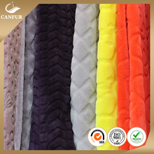Factory wholesale colorful printed coral fleece fabric