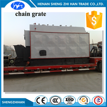 Coal/Wood/Biomass Fired Steam Boiler Horizontal Automatic Chain Grate