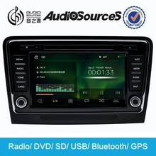"""2015 Audiosources 8"""" HD 1080P wince6.0 WITH 3G GPS DVD PLAYER for skoda"""