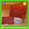 Hot sale christmas pvc plastic gift cards with card holder