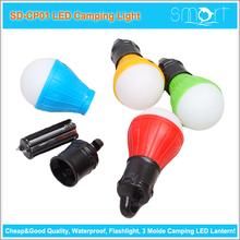 2015 New Cheapest LED Camping Light 3 Mode Foldable LED Lantern