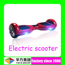 Fashion smart handless self balance electric foot scooter with two wheels and Li-ion battery