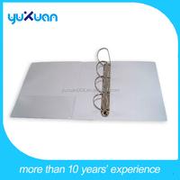 stationery decorative waterproof PVC 4 ring binder presentation file folder