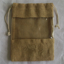 jute bag/used burlap jute bags/jute bag window