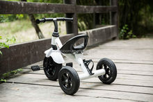 2015 with 3 big air wheels, move easy with clearl light, pass en71-3 keep your baby comfortable baby trike