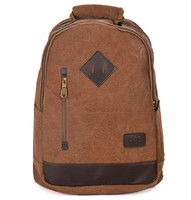 2014 fashion trend canvas backpack for school teenagers boy