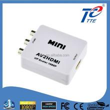 Universal Mini AV Converter, RCA to HDMI Converter