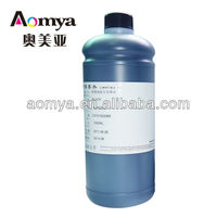 Aomya never clogged Film screen PET platemaking ink and extra Black 1000ML, FILM pigment ink