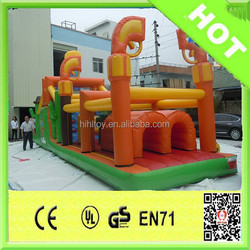 2015 hot sale playground jumping bouncy for kids inflatable trampoline