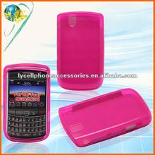 For Blackberry Tour 9630 hot pink candy cover case