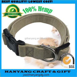 Hot Sales Hemp Eco-Friendly Dog Collar