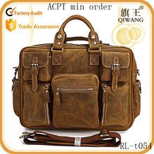 Guangzhou Cheap Fashion Famous Brand Man Leather Bag Wholesale