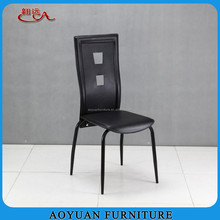pvc leather metal pictures of dining room table chair