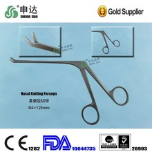 Reusable Stainless Steel ENT Sinus Forceps Sinoscope Instrument Nasal Cutting Forceps