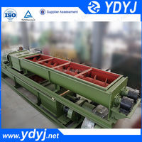 Large capacity flexible screw rotary conveyor for exporting