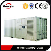 Gmeey ISO Standard 40HC Containerized 1mw diesel generator 1000kw container generator