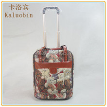 easily hight quality durable nylon material trolley backpack trolley bag polo/school trolley bag/trolley shopping bag with chair